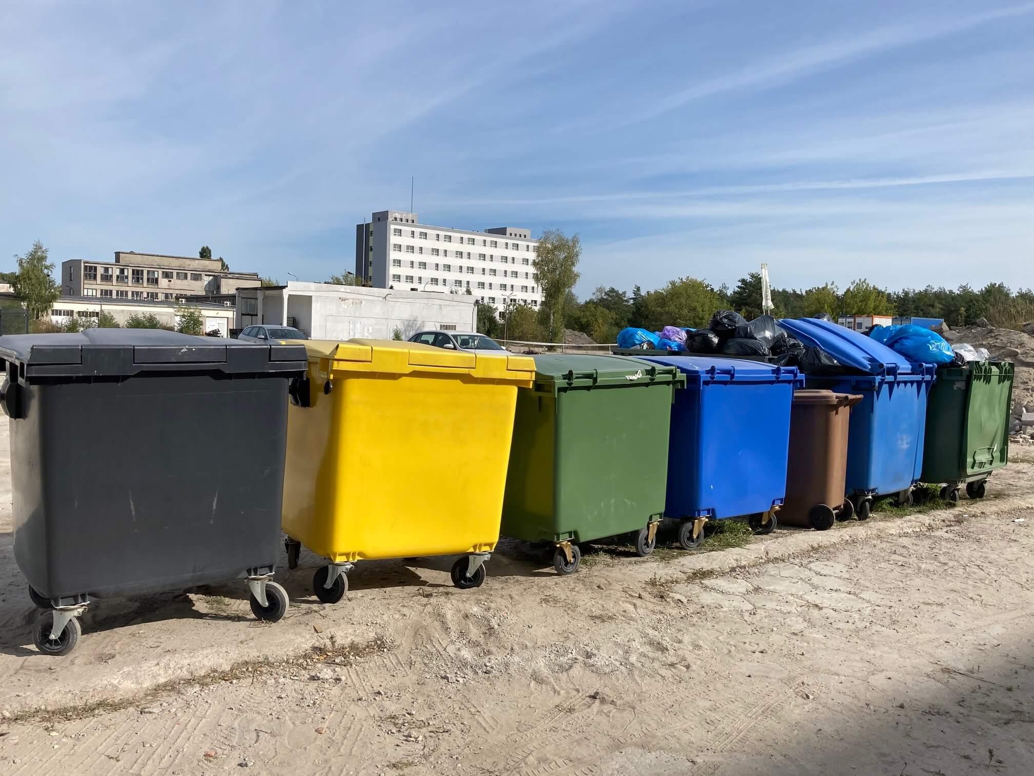 Cena kontenera na gruz i śmieci