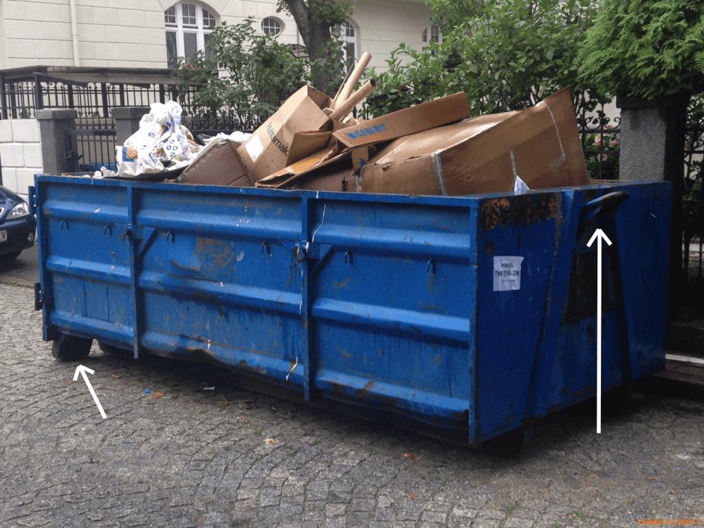 Kontenery na gruz Augustów