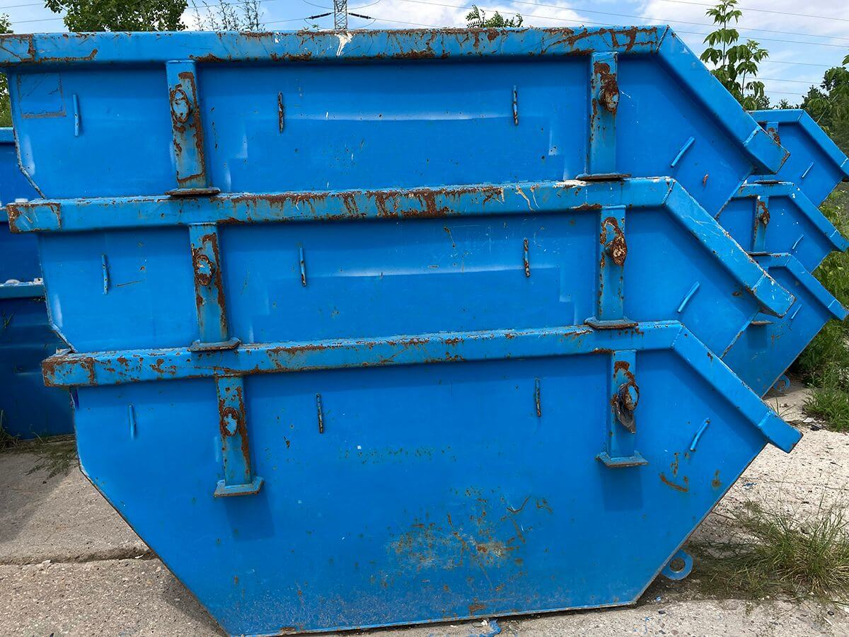 kontenery bramowe na gruz Gruznet