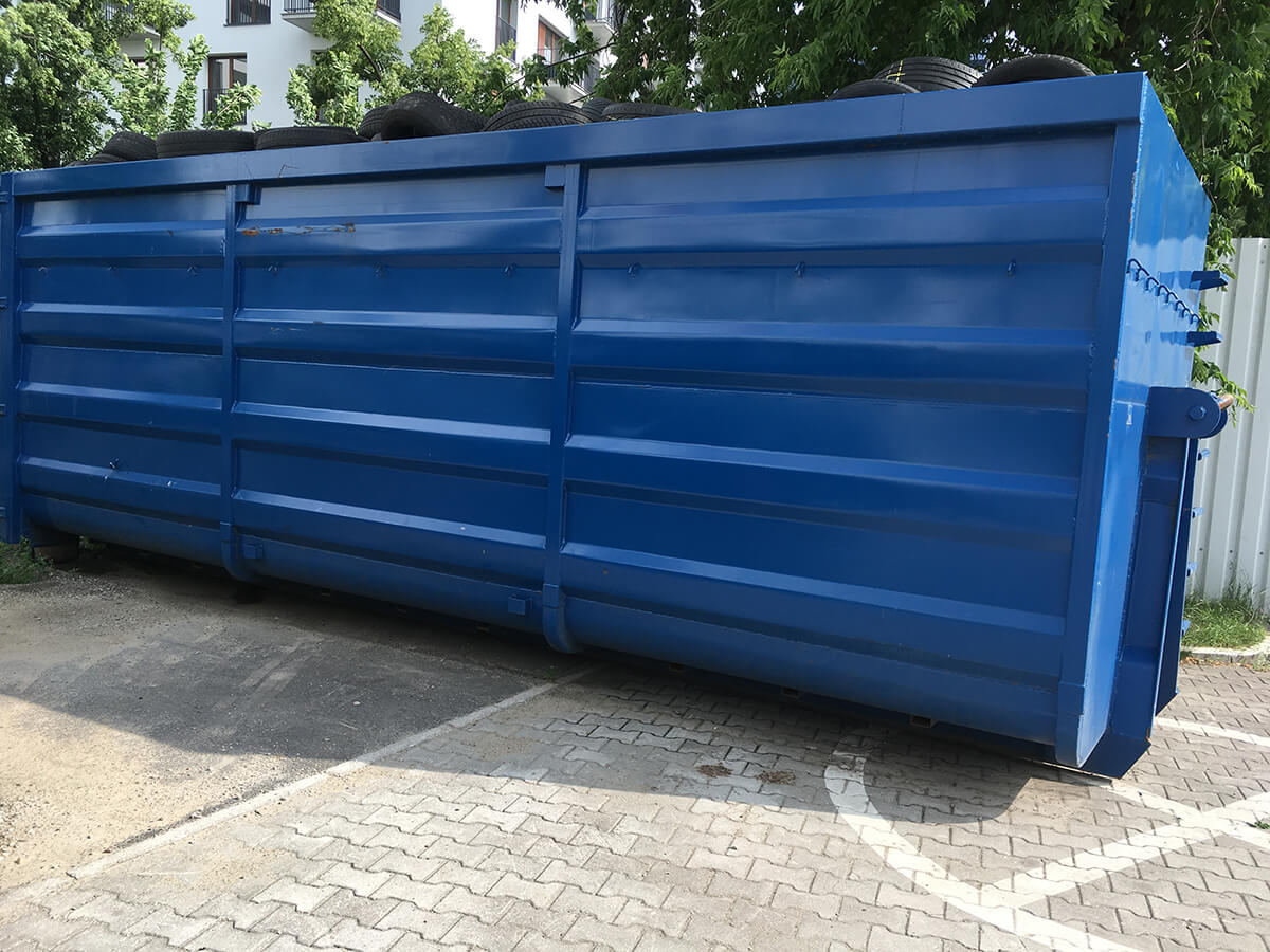 kontener na odpady opakowaniowe