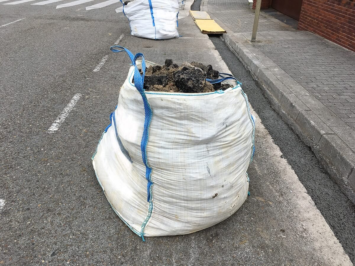 worek big bag na gruz i śmieci