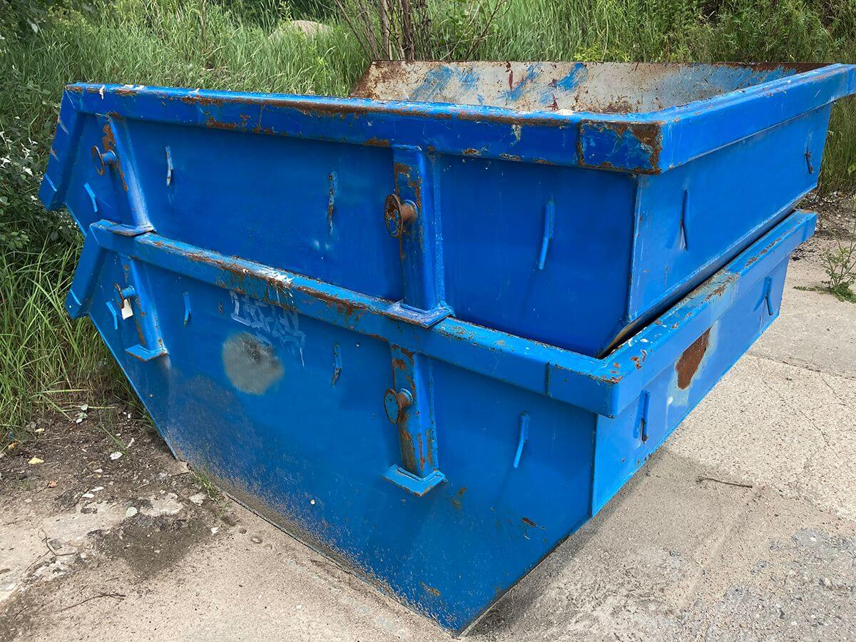 małe kontenery na gruz Kp2